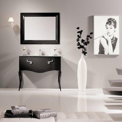 Botsford 40 Single Bathroom Vanity Set Base Finish: Black