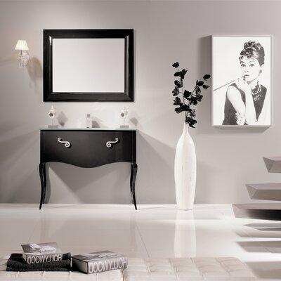 Botsford 32 Single Bathroom Vanity Set Base Finish: Black