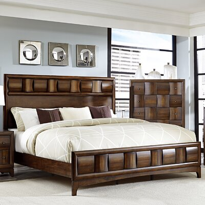 Ainslie Brook Panel Bed Size: King