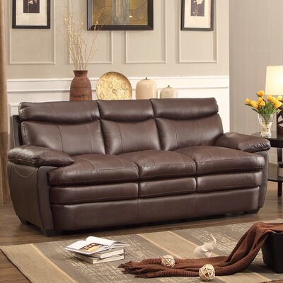 8428-3 BOME1410 Homelegance Rozel Leather Reclining Sofa