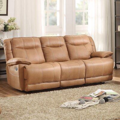 8414-3 BOME1354 Homelegance Wasola Triple Reclining Sofa