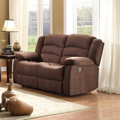 8436CH-2 BOME1165 Homelegance Greenville Reclining Loveseat