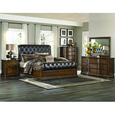 Brompton Lane Sleigh Configurable Bedroom Set