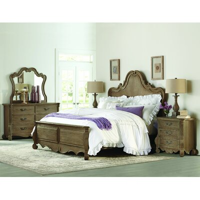 Chrysanthe Panel Configurable Bedroom Set