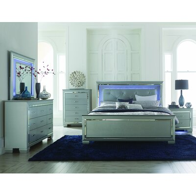 Allura Panel Customizable Bedroom Set