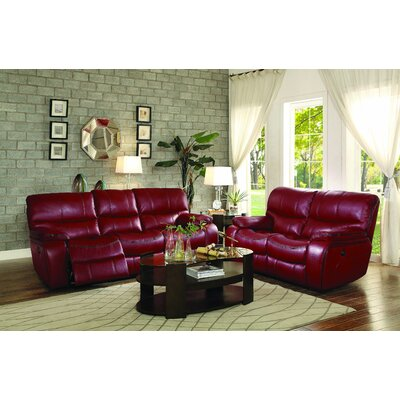 8480RED-3PW Homelegance Power, Upholstery Sofas
