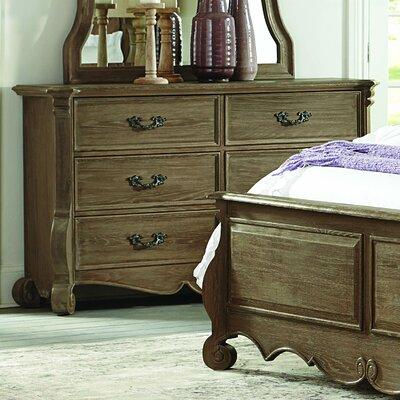 Chrysanthe 6 Drawer Double Dresser