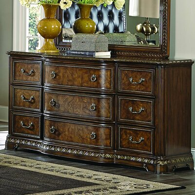 Brompton Lane 9 Drawer Standard Dresser