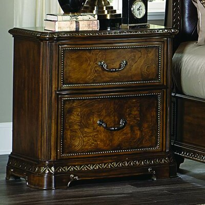 Brompton Lane 2 Drawer Nightstand
