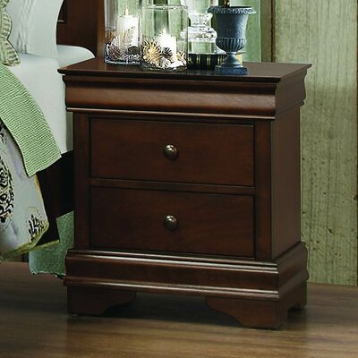Abbeville 2 Drawer Nightstand