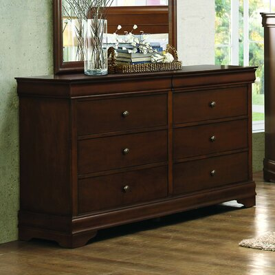 Abbeville 6 Drawer Double Dresser