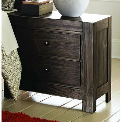 Farrin 2 Drawer Nightstand