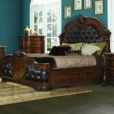 Antoinetta Upholstered Panel Bed Size: Queen