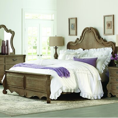 Chrysanthe Panel Bed Size: Queen