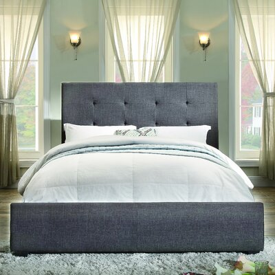Roodhouse Upholstered Panel Bed