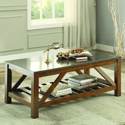 Ashby Coffee Table, Bluestone Marble
