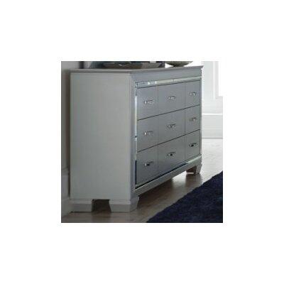 Allura 9 Drawer Standard Dresser