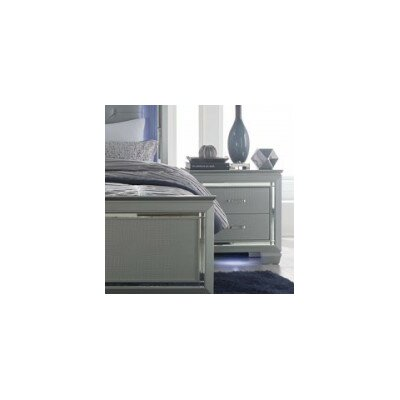 Allura 2 Drawer Nightstand