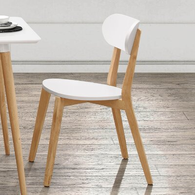 Bess Dining Chair (Set of 2) Color: White