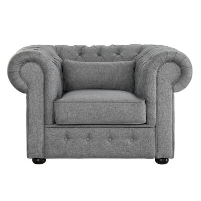 Pearlie Armchair Upholstery: Gray