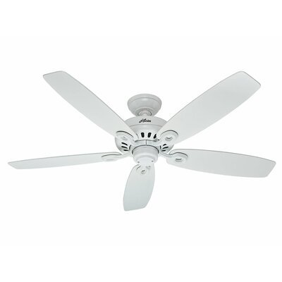 52 Markham 5-Blade Ceiling Fan Finish: Snow White