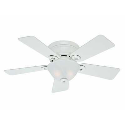 42 Conroy 5 Blade Ceiling Fan Finish: Snow White image