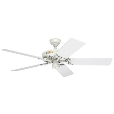 52 Original 5-Blade Ceiling Fan Finish: White