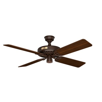 52 Original 5-Blade Ceiling Fan Finish: Chestnut Brown with Cherry/Walnut Blades