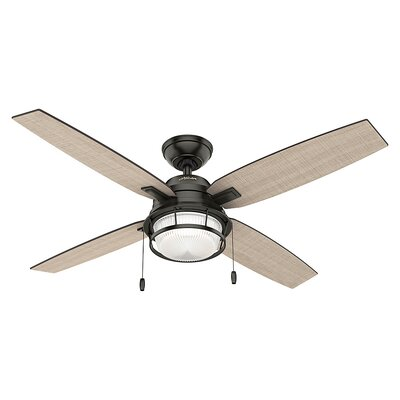 52 Ocala 4-Blade Ceiling Fan Finish: Noble Bronze