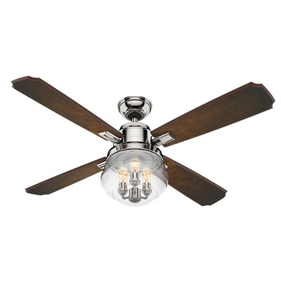 54 Sophia 4 Blade Ceiling Fan with Handheld Remote