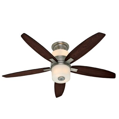 52 Domino 5-Blade Ceiling Fan