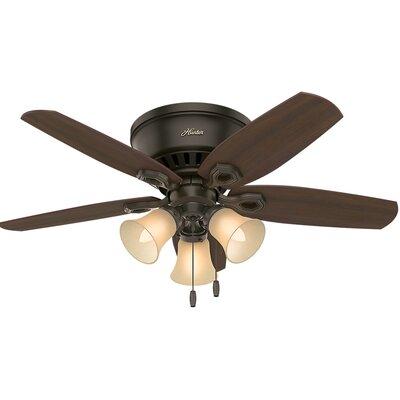 42 Builder Low Profile 5-Blade Ceiling Fan