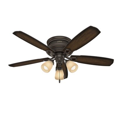52 Ambrose Low Profile 5-Blade Ceiling Fan