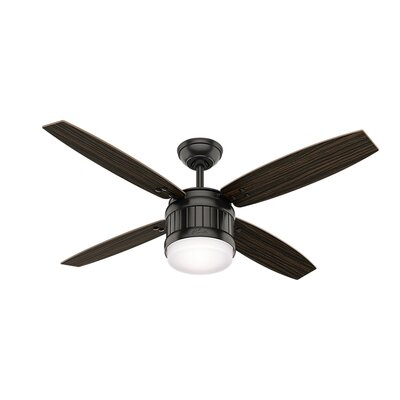 52 Seahaven 4 Blade Ceiling Fan with Remote Finish: Noble Bronze