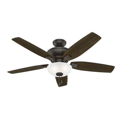 52 Kenbridge 5 Blade Ceiling Fan Finish: Noble Bronze