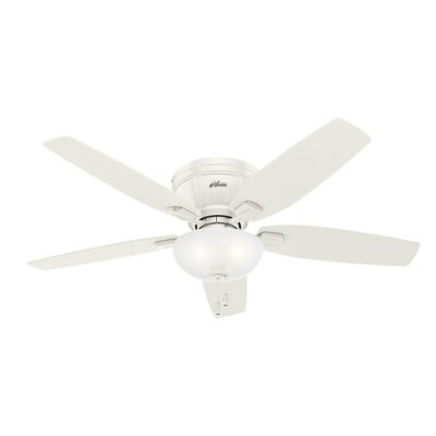 52 Kenbridge 5 Blade Ceiling Fan Finish: Fresh White