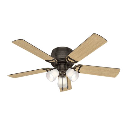 52 Prim 5 Blade Ceiling Fan Finish: Premier Bronze