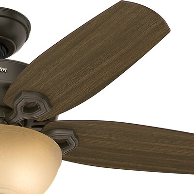 42 Builder Small Room 5 Blade Ceiling Fan with Light