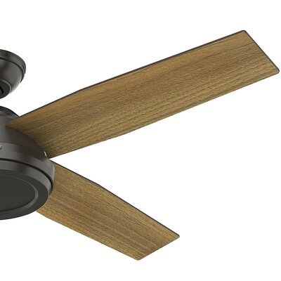 52 Dempsey 4 Blade Ceiling Fan with Handheld Remote
