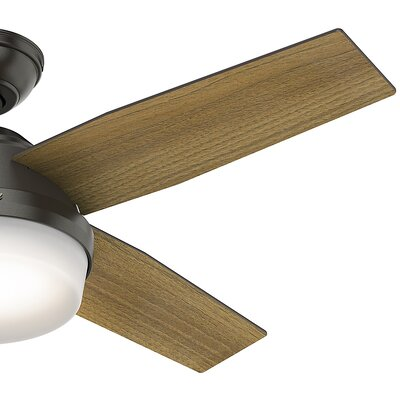 44 Dempsey 4 Blade LED Ceiling Fan with Remote