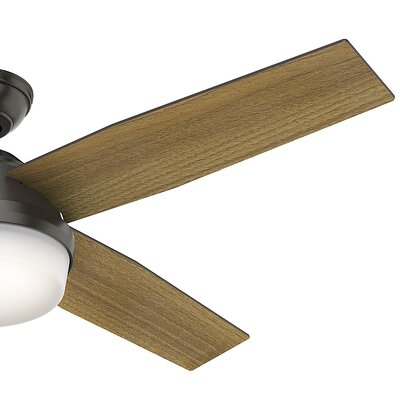 52 Dempsey 4 Blade LED Ceiling Fan with Remote