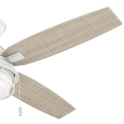 52 Ocala 4 Blade Outdoor Ceiling Fan with Light