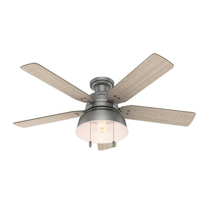 52 Mill Valley 5 Blade Ceiling Fan Finish: Matte Silver