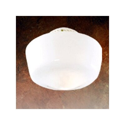 Original Schoolhouse 10 Glass Ceiling Fan Bowl Shade