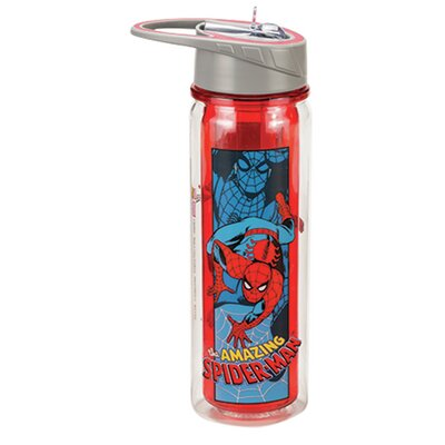 Marvel Amazing Spider Man 18 oz. Tritan Water Bottle 26710