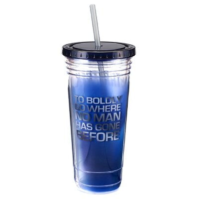 Star Trek 24 oz. Acrylic Travel Mug 80014