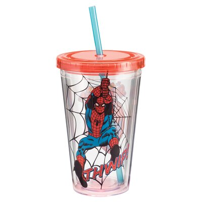 Marvel Spider-Man Acrylic 18 oz. Insulated Tumbler 26914