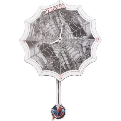 Marvel Spider-Man Shaped Deco Wall Clock 55544