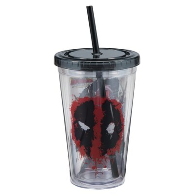 Marvel Deadpool Acrylic 18 Oz. Travel Cup 26115