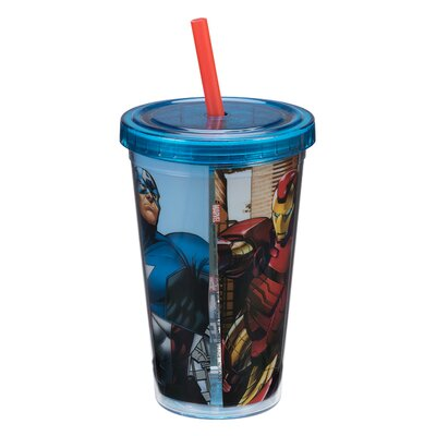 Marvel Avengers Assemble Acrylic 12 Oz. Travel Cup 26614